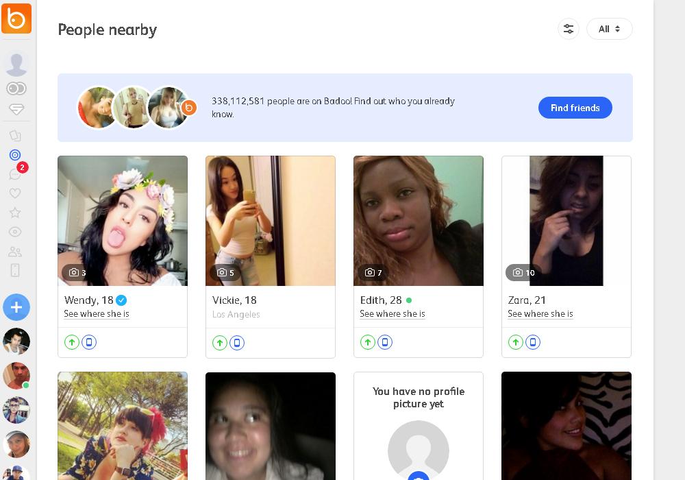 Badoo online dating 420 dating websites