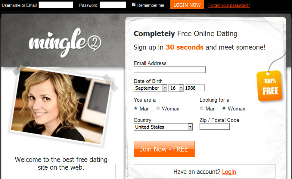 Mingle free dating site