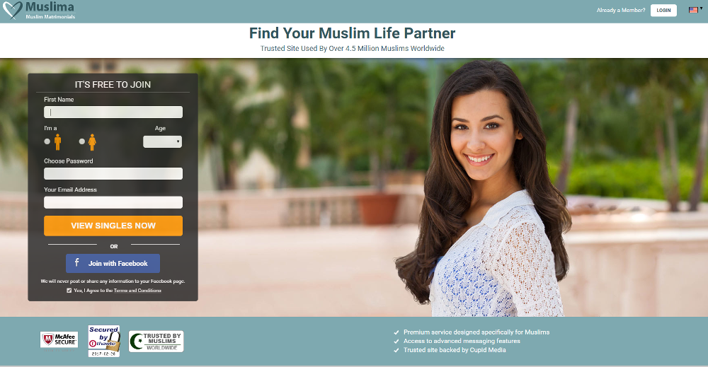 free muslim dating marriage sites Eternal garment focuses on islamic matrimony and features profiles of eligible single muslim men & women we make the process of finding a bride or groom much simpler.